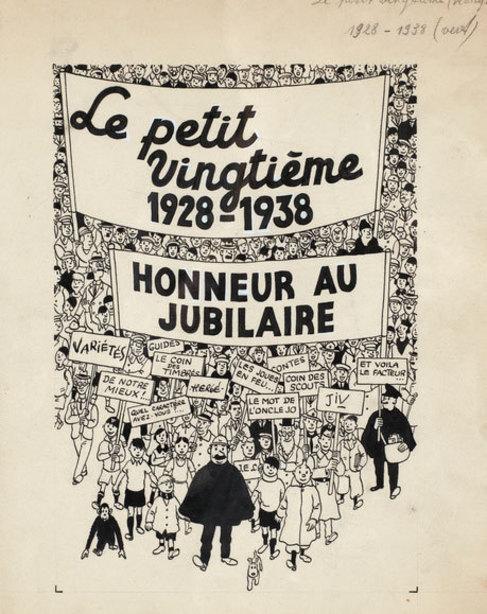 Tintin, portada revista