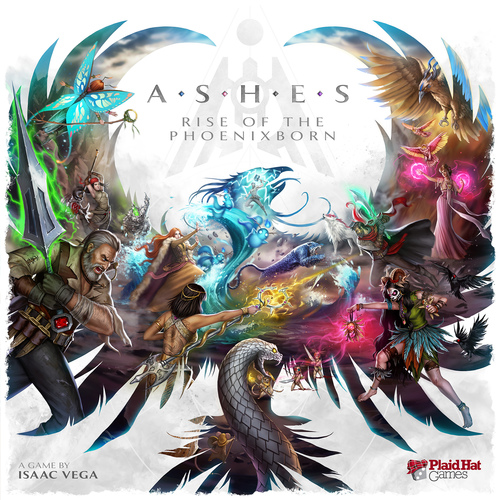 Portada de Ashes Rise of the phoenixborn