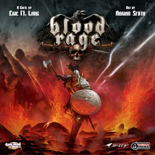 Portada de Blood Rage