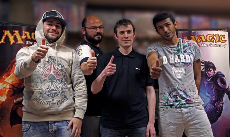 Ganadores del torneo Magic Regional Pro Tour Qualifier de Madrid