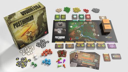 Componentes de Posthuman