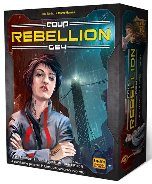 Portada de Coup Rebellion G54