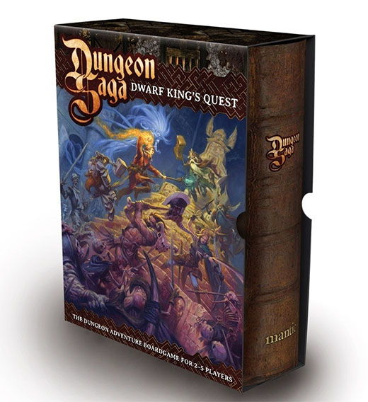 Portada de Dungeon Saga