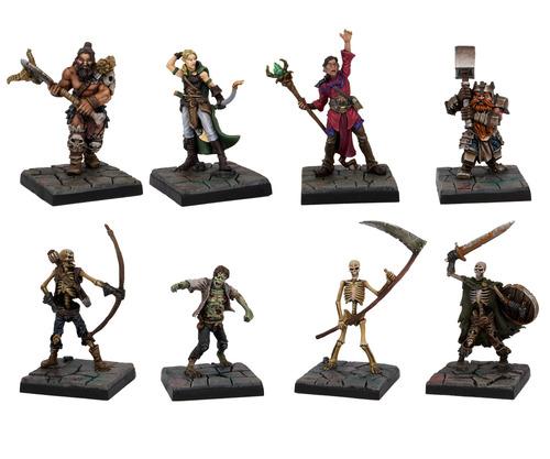 Miniaturas de Dungeon Saga