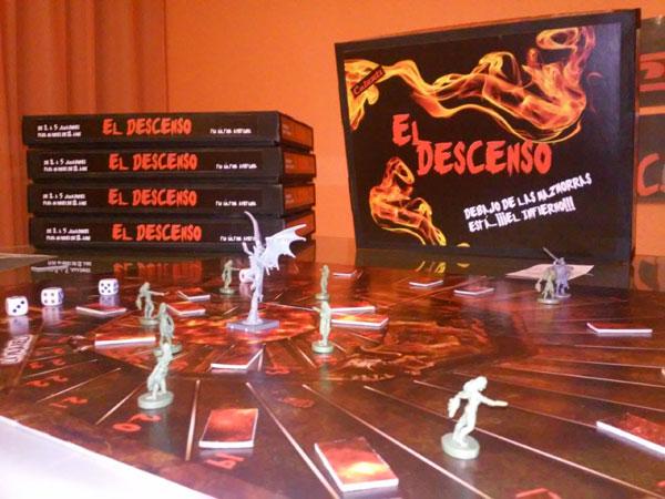 Cajas del juego El Descenso