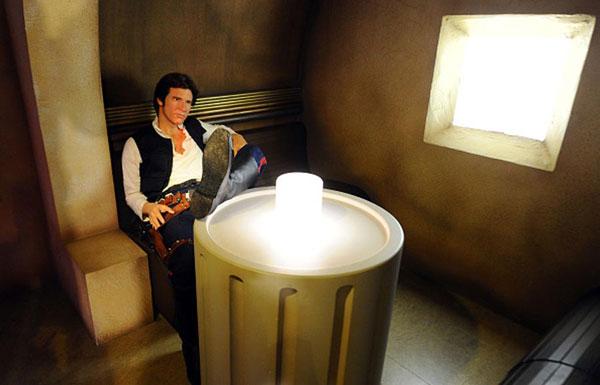 Han Solo en cantina de Tatooine