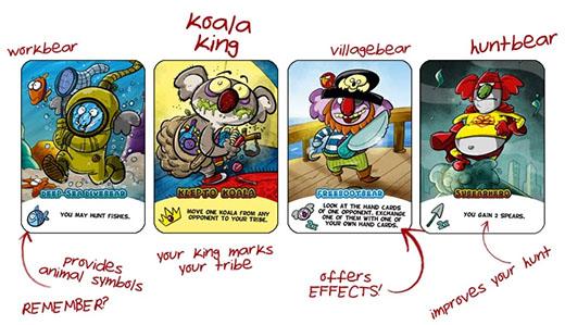 Cartas de Koalas de Karnivore Koala