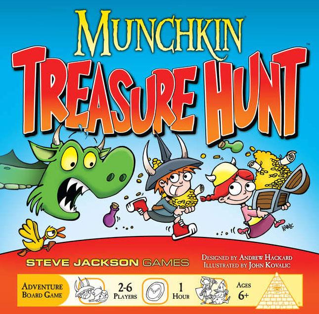 Portada de Munchkin Treasure Hunt