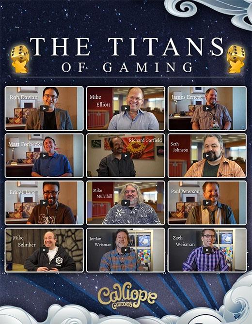 Autores de la Titan Series