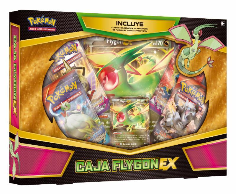 Caja Flygon EX de Pokémon
