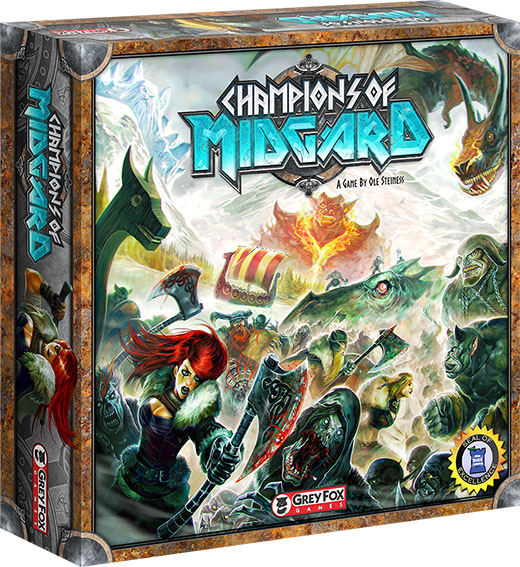 Caja de Champions of Midgard