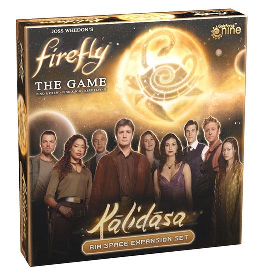 Portada de la expansión de Firefly Kalidasa