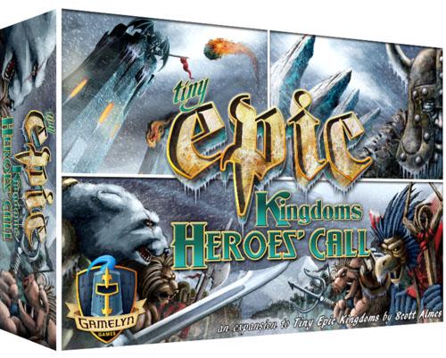 Portada de Tiny Epic Kingdoms Heroe's Call