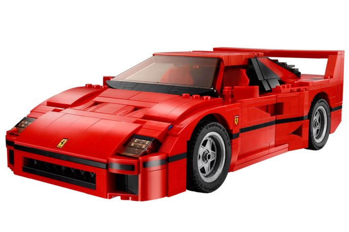 Ferrari F40 d Lego