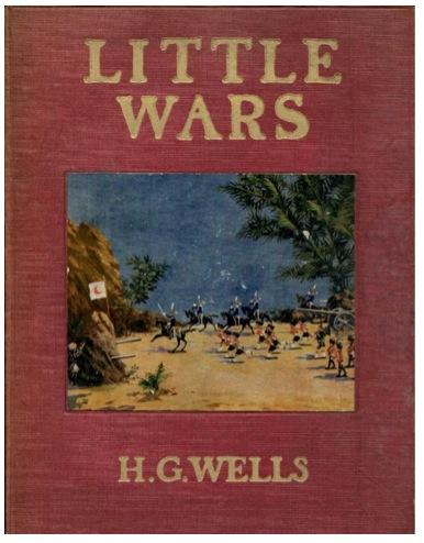 Portada de Little wars, el juego diseñado por HG Wells