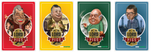 Personajes de The lords of pigs pata negra