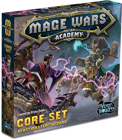 Caja básica de Mage Wars Acedemy