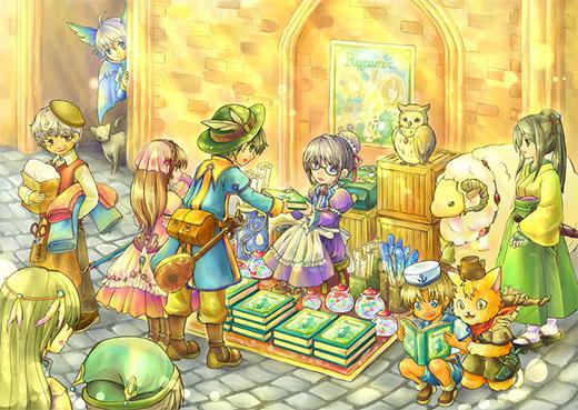 Ilustración de Ryuutama