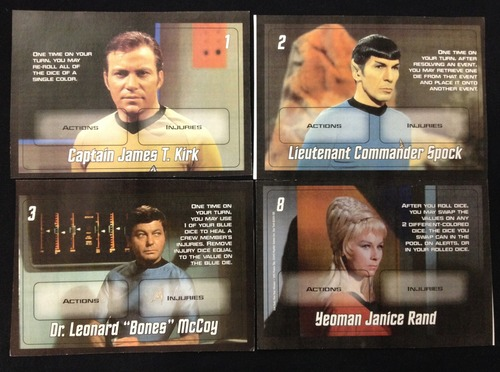 Cartas de Star Trek Five-Year Mission