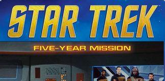Portada de Star Trek Five-Year Mission