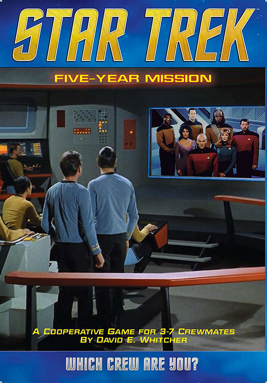 Portada de Star Trek Five-Year Mission