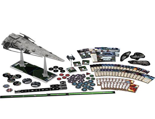 Componentes de la corveta Raider para X-Wing