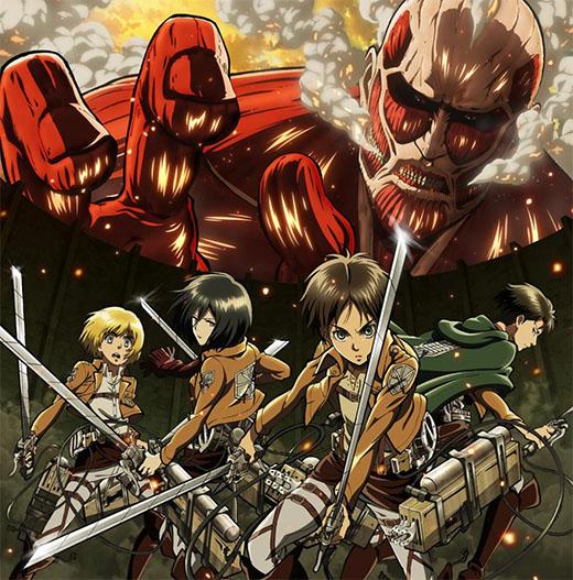 Imagen del anime Attack on titan