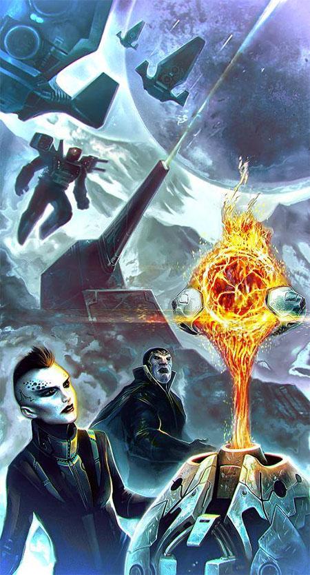 ilustración de Dark Matter