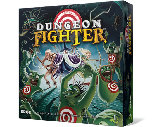 Portada de la edición Edge entertaiment de Dungeon Fighter