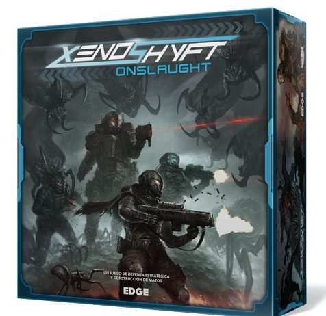 Portada de de Xenoshyft Onslaught