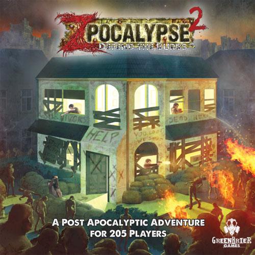 Portada de Zpocalypse 2: Defend the Burb