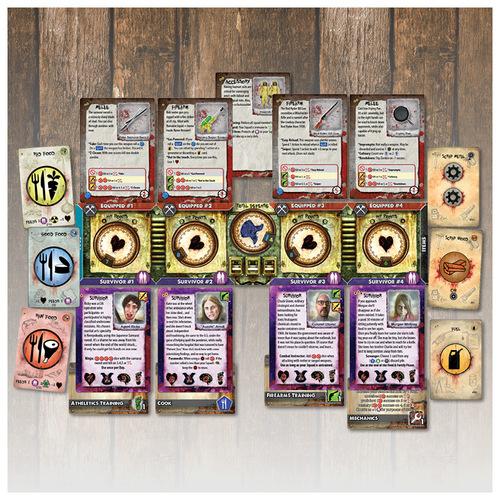 Grupo de personajes de un jugador de Zpocalypse 2: Defend the Burb
