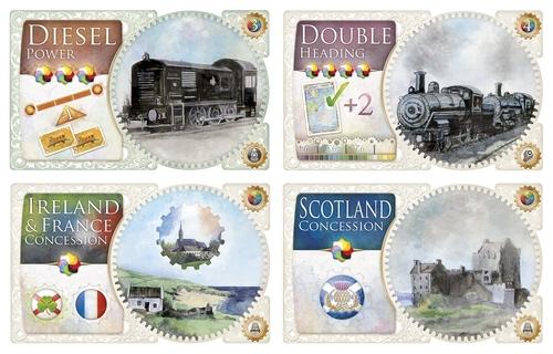 Cartas de tecnología de aventureros al tren Reino Unido