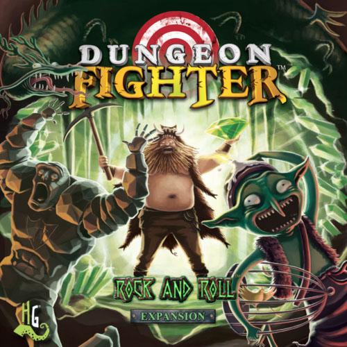 Portada de la expansión de Dungeon Fighter Rock&Roll