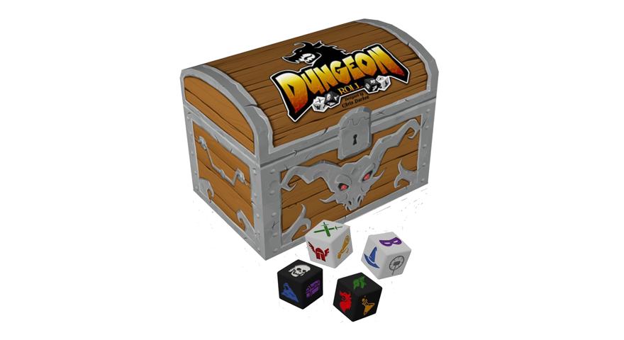 Juego de mesa Dungeon Roll
