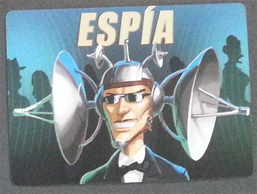 Carta de espía de El Espía que se perdió
