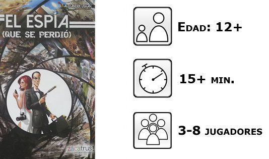 Datos del juego El Espía que se perdió