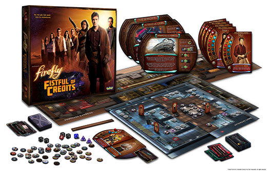 Componentes de Firefly Fistful of credits