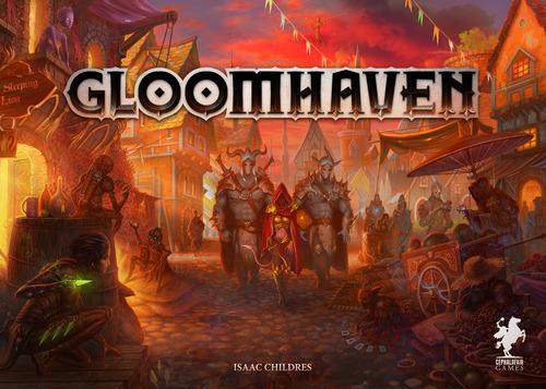 Portada de Gloomhaven