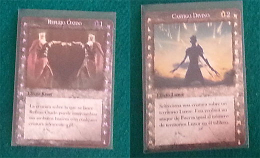 Cartas de hechizo de land of rivals