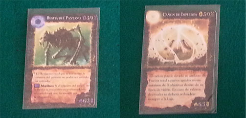 cartas de criaturas de land of rivals