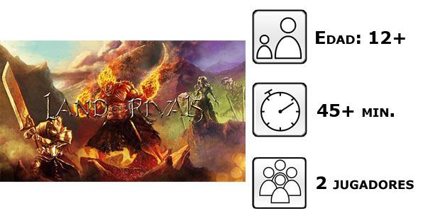 Datos del juego Land of rivals