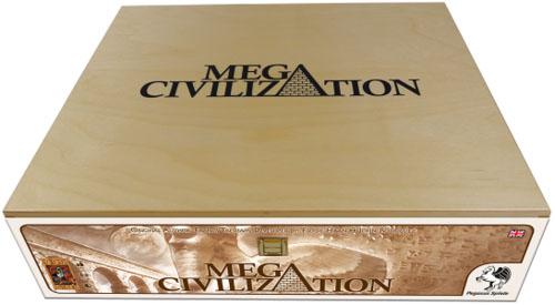 Caja de Madera de Mega Civilization