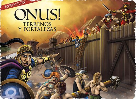 Portada de la expansión de Onus Terrenos y fortalezas