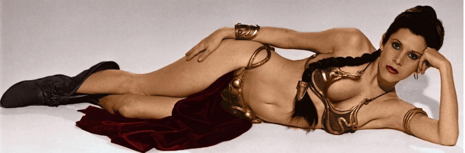 Pricesa Leia con bikini de esclava