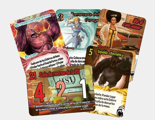Cartas de ciencia ficción por partida doble la tercera expansión de smash up