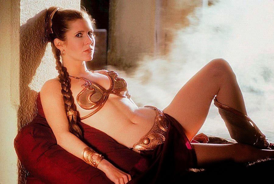 Traje de esclava de la Princesa Leia