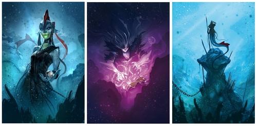 Nuevos personajes de Abyss Kraken