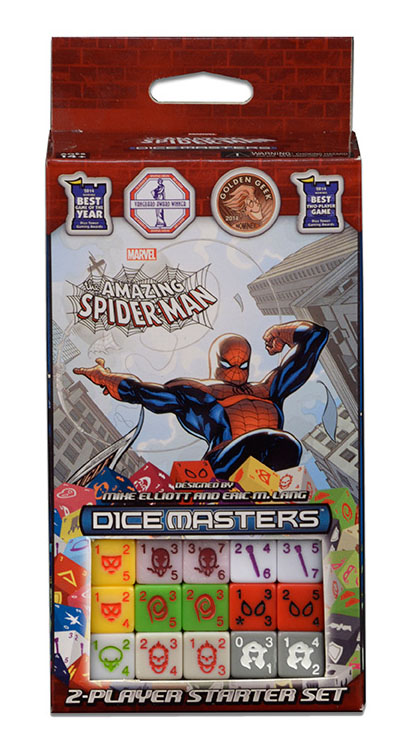 Set de Dice Master: The Amazing Spider-man