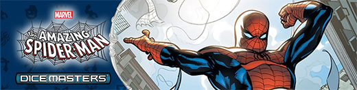 Cabecera de Dice Master The Amazing Spider-man